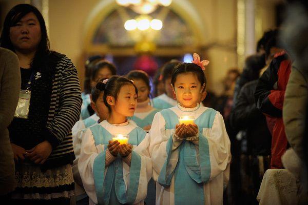 Атеистический Китай переживает пробуждение